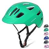 Korimefa 自転車 ヘルメット こども用 幼児 1-8歳向け サイクリング ヘルメット防虫ネット 軽量 通気性 虫除け サイズ調整可能 XS 頭囲 46CM-51.5CM グリーン