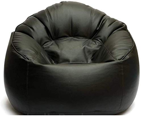 KJ Bean Bag Original XXXL Sofa Mudda Cover Black (Without Beans)