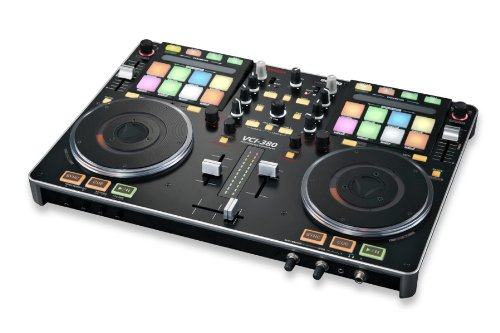 Buy Bargain Vestax VCI-380 Professional 2-Channel Serato DJ MIDI Controller with Built-In Digital Mi...