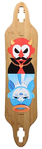 Madrid Skateboards Tombstone Bamboo good AND Evil DT 38 cubierta 2015