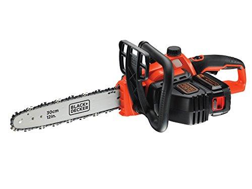 BLACK+DECKER GKC3630L20-GB 36 V Lithium-Ion Chainsaw, 30 cm, Orange