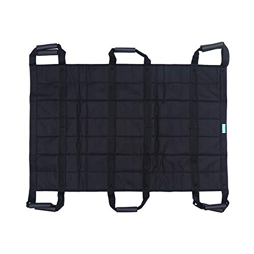 Colocación de la almohadilla de la cama con asas-paciente Turner-Lift Tabla de transferencia Hoja de cinturón Deslice la cama Ayuda