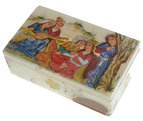 LPUK LUXURY JEWELLERY BOX SERIE 5 MELODY OF LOVE SCATOLA PER GIOIELLI DI MARMO PERSIAN SQUISITO EXQU