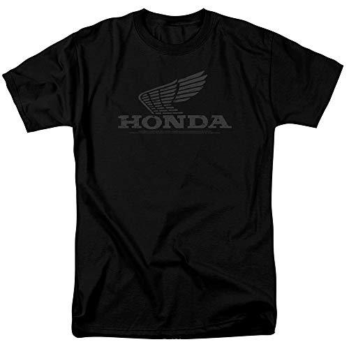 Honda Vintage Wing Unisex Adult T Shirt for Men and Women, X-Large Black