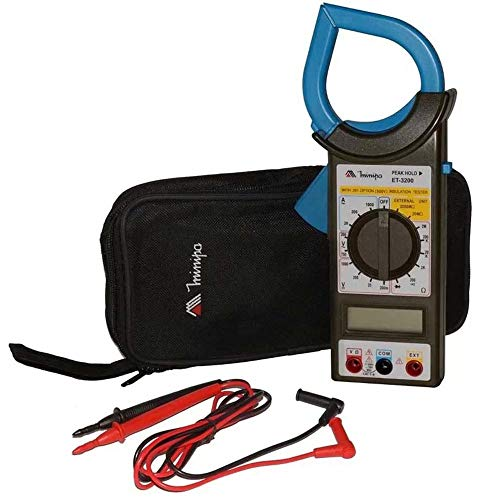 Alicate Amperímetro Digital, MINIPA, ET-3200, Preto