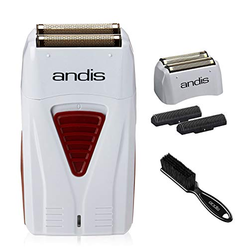 Andis Bundle 17150 Profoil Lithium + 17155 Replacement Foil and Cutter + CL-12415 Blade Cleaning Brush…