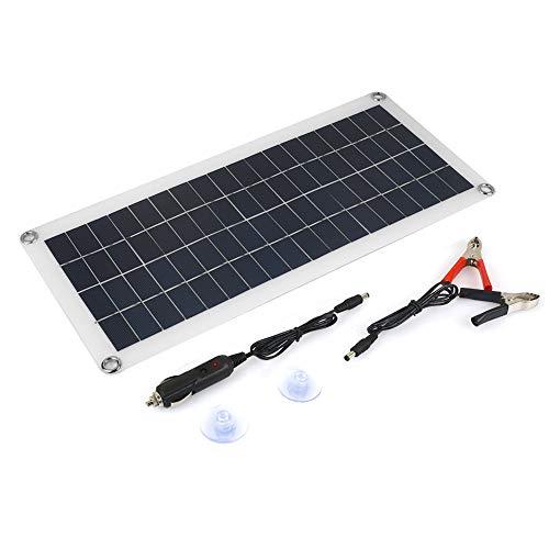 Haihuic 20W 12-18V Solarmodul Photovoltaik PV Solarpanel Polykristalline Solarzelle Wohnmobil Marine-Boot Aus dem Gitter