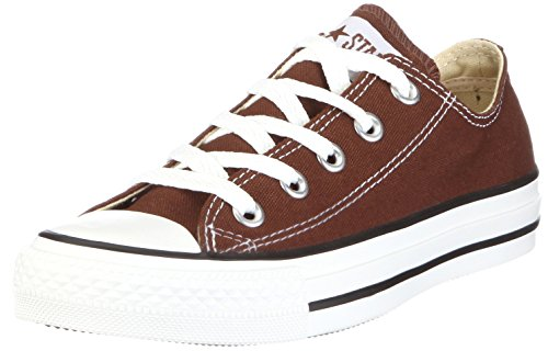 CONVERSE Chuck Taylor All Star Seasonal Ox, Unisex-Erwachsene Sneakers, Braun (Chocolate), 41.5 EU