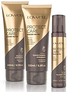 Lowell Protect Care Power Nutri - Kit 3 Produtos (sh+cond+leave-in)