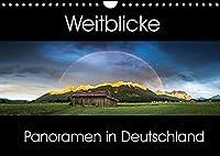 Weitblicke - Panoramen (Wandkalender 2022 DIN A4 quer): Faszinierende Landschaften im Panoramaformat (Monatskalender, 14 Seiten )