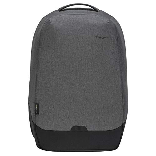 Targus Cypress Zaino di sicurezza con EcoSmart progettato per viaggiatori d'affari e scuola, adatto per laptop/notebook fino a 15,6', grigio (TBB58802GL)
