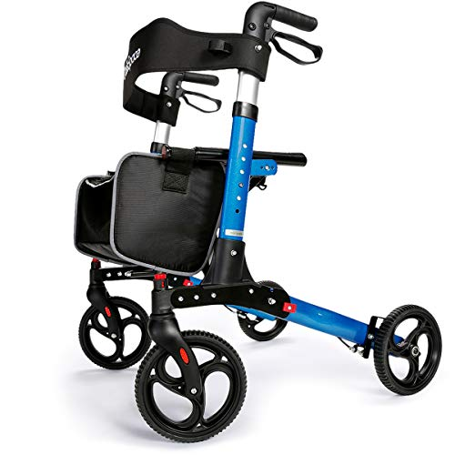 OasisSpace Ultra Folding Rollator Walker