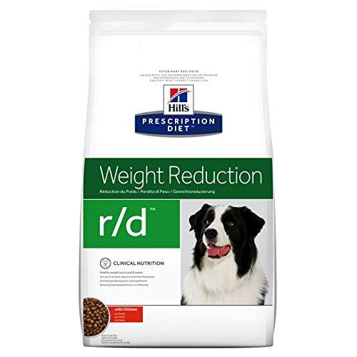 Hills Diät Hunde r/d Gewichtsreduktion mit Huhn Trockenfutter 12 kg für übergewichtige oder diabetische Hunde