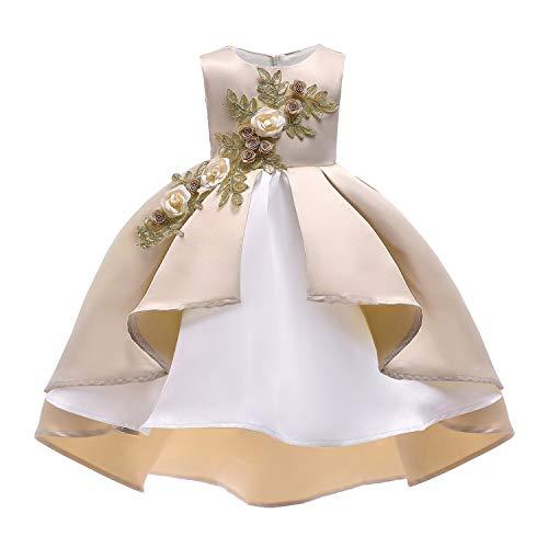 HAIMENG Meisje Bruiloft Bloem Meisje Meisje verjaardag trouwfeest jurk prom prom jurk bruidsmeisje schoonheid pageant bloemjurk Meisje Feestje Bruidsjurk