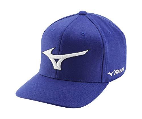 Mizuno Diamond Snapback Casquette pour Homme, Chapeau, 260310.5252.10.One, Bleu Marine, Taille...