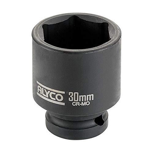 Alyco 198213 – Clé à Douille à Chocs insercion 1/2 de 13 mm, Rouge,