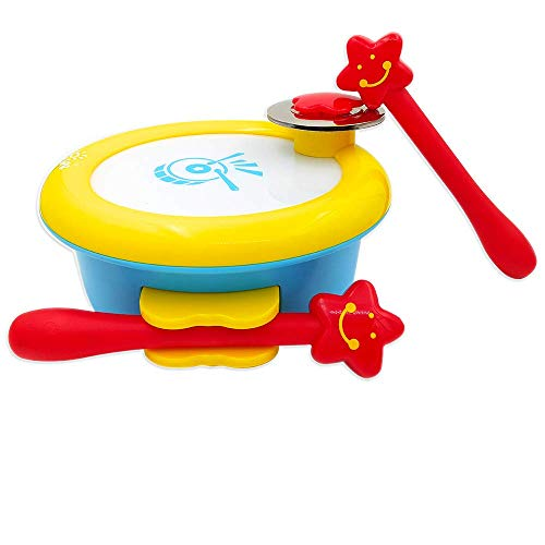 ISEE Baby Toys, Musical Toys for Toddlers, Educational Toys for 2 Year Old Girls, Toddler Toys for Girls Age 2, Kids Drum Set Baby Boy Toys Development, Take Along Tunes Kid Learning Toys.