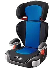 Graco(グレコ) シートベルト固定 ジュニアシート ジュニアプラス カラーズ Junior Plus Colors 3歳頃からロングユース ブルー 3歳~2138462