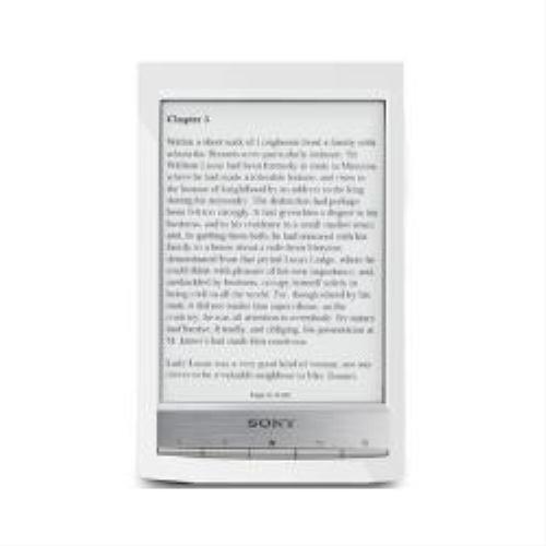 Sony PRS-T1 Reader Touch 6.0 '2GB pantalla táctil eBook Reader Wifi (aproximadamente 1200 eBooks) (Blanco)