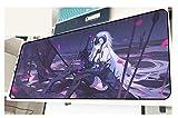 Jeanne d'Arc Anime 3D surface unique imperméable antidérapant en caoutchouc naturel bureau bureau pad-4_900 * 400 * 3