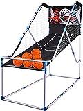 Bilisder Juego de Baloncesto para Niños, para Interior y Exterior, con Sistema de Conteo de Puntos, Efectos de Sonido, 6 Pelotas Pequeñas de Baloncesto, Juego Arcade para Toda la Familia
