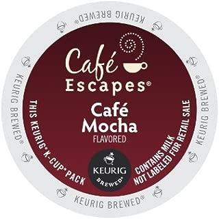 Cafe Escapes Cafe Mocha KCups 96ct by Cafà Escapes