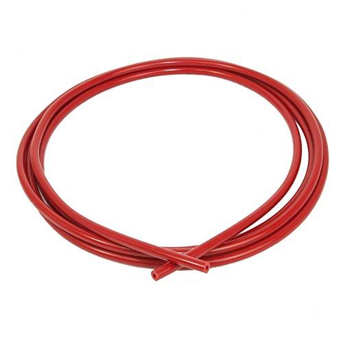 Manguera de vacío de silicona, de Ramair Filters. VAC3MM-3M-BK, 3 mm x 3 m, color rojo