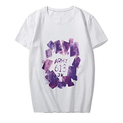 Aopostall BTS Merchandising, Kpop BTS Jimin Jungkook Suga V J-Hope Concert Misma camiseta