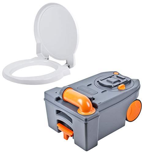 THETFORD Fresh Up, set di scarico C 250/260per WC, con tavoletta, serbatoio con ruote, accessori sanitari per camper e roulotte