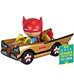 Batman POP! Ridez Vehicle with Dorbz Figure ?66 Batman Gold Batmobile SDCC 2016 Exclusive 12 cm Funk...