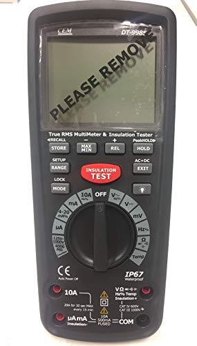 CEM DT-9985 Isolationstester True RMS Multimeter 40000 Anzeige【3 Jahre Garantie】