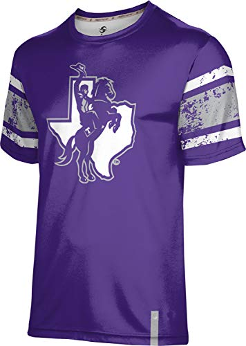 ProSphere Tarleton State University Men's Performance T-Shirt (End Zone) B67E73D Purple and Gray