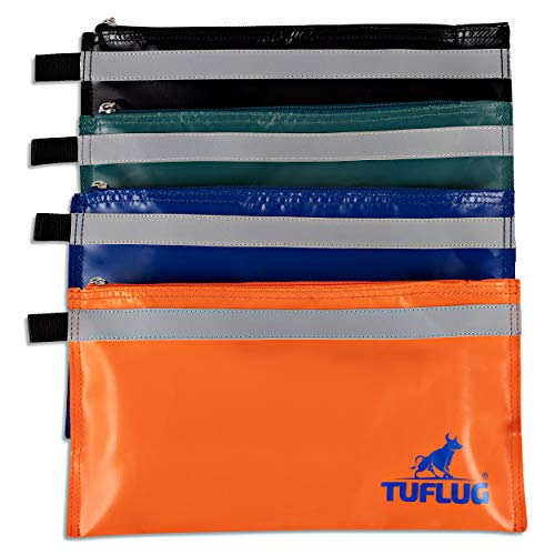 13 x 7 Inch Tool Pouch - 4 Pack