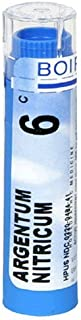 Boiron Homeopathic Medicine Argentum Nitricum, 6C Pellets, 80-Count Tubes (Pack of 5)