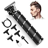 Hair Clippers for Men, Electric Hair Trimmer for Men - Cordless Hair Trimmer Hair Clipper for Kids & Adults - Hair & Beard Trimming Grooming Kit for Home & Barber Use