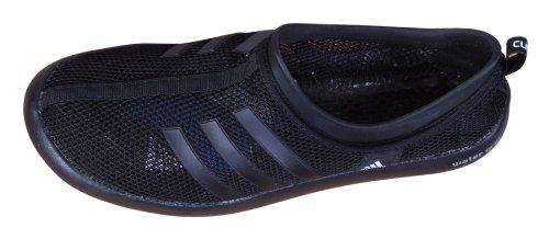 Adidas Boat CC ClimaCool Herren Boot Schuhe Segelschuhe Wasserschuhe Badeschuhe Schwimmschuhe Strand Baden Schwimmen Wassersport atmungsaktive Outdoor für Männer schwarz 40 2/3