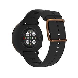 POLAR IGNITE - Advanced Unisex Waterproof Multisport Watch (Includes Polar Precision HR, Integrated GPS & Sleep Plus Tracking), Black Copper, M/L