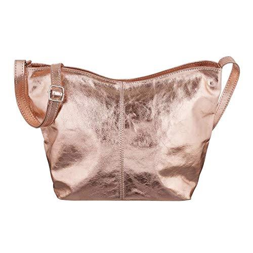 OBC Only-Beautiful-Couture, Borsa a spalla donna Rosa Rosa-metallic 34x24x14 cm (BxHxT)