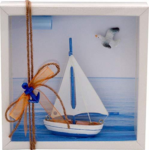 ZauberDeko Geldgeschenk Verpackung Segelboot Segeln Reise Urlaub Meer Segelkurs Gutschein Geburtstag