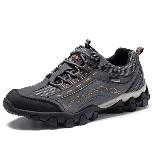 Zapatillas De Senderismo Y Trail Para Hombre,zapatillas De Senderismo Informales Y Transpirables,zapatillas De Bicicleta De Montaña Antideslizantes,adecuadas Para Senderismo Y Deportes Al Aire Libre
