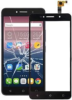 QFH لوحة لمس لـ Alcatel One Touch Pixi 4 6 3G / 8050 (أسود) قطع غيار لوحة اللمس هاتفالمحمول (اللون: أسود)
