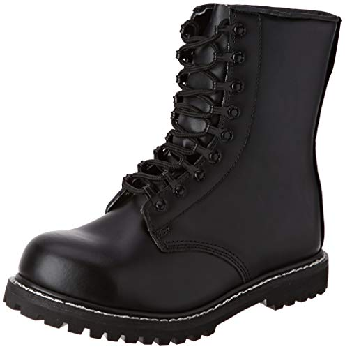 Mil-Tec - Zapatos de Caza para Hombre Negro Negro Negro Talla:43