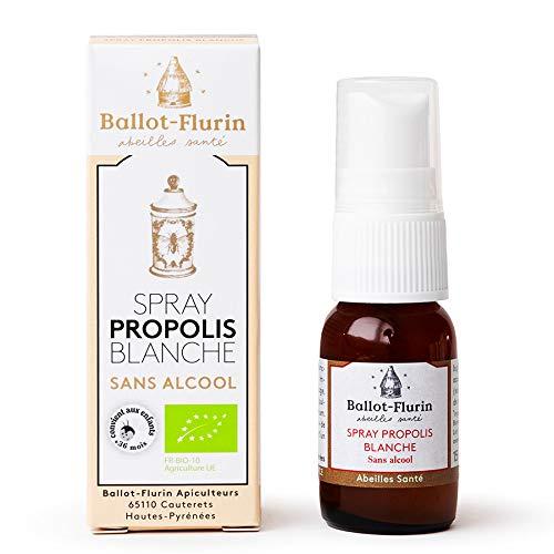 Spray Propolis Blanche sans alcool - Bio