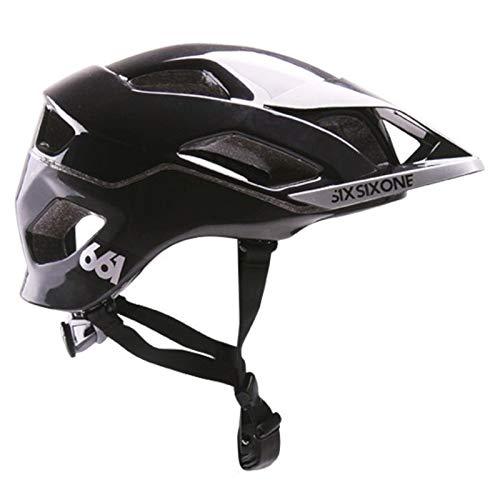 SIXSIXONE EVO Am - Casco de Bicicleta - Negro Contorno de la