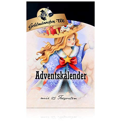 Goldmännchen Tee-Adventskalender