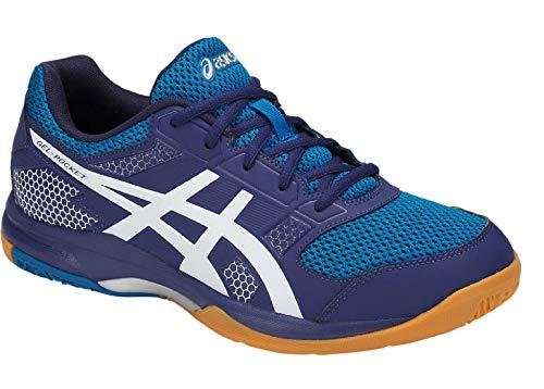ASICS Men's Blue Multisport Training Shoes-10 UK/India (45 EU)(11 US) (B706Y.400-10-BLUE Print/White)