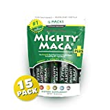 Mighty Maca Plus - 15 Travel Packs Delicious, All-Natural,...