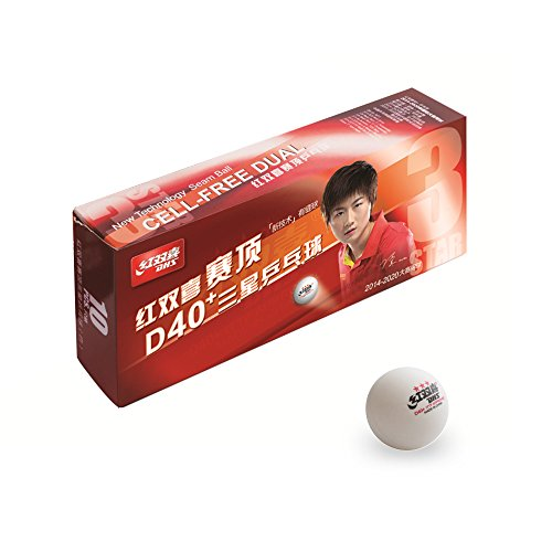 Double Happiness DHS Ball DUAL ABS*** 100er, weiß