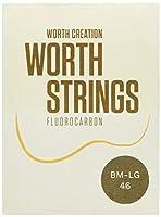 【Worth】 BM-LG ブラウン フロロカーボン弦 セット (Low-G ウクレレ用)
