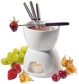 Cillo Chocolate Fondue Set Color: White